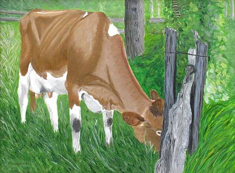The grass is always greener... by Barb Pennypacker