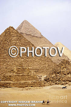The Great Pyramids - Giza - Egypt by Hisham Ibrahim