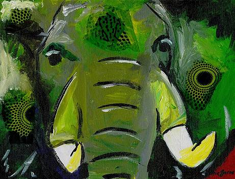 The Green Elephant in the Room by Katie Sasser