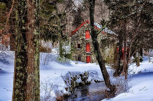The Grist Mill in Wayland by Tricia Marchlik