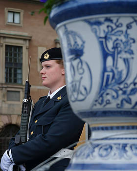 Evgeny Lutsko - the guard at the Royal Palace of Stockholm-2
