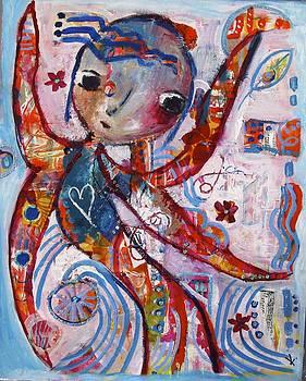The guardian angel by Corina  Stupu Thomas