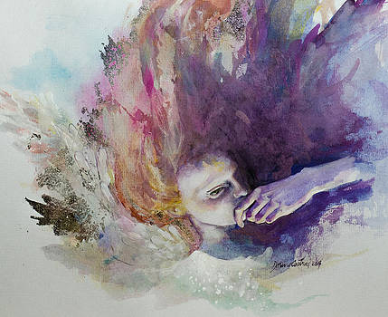 The Guardian Angel by Dorina  Costras