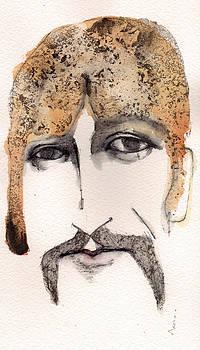 Mark M  Mellon - The Guru as George harrison