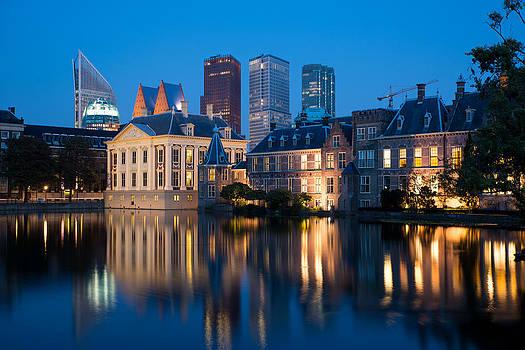 The Hague skyline by Eric Keesen