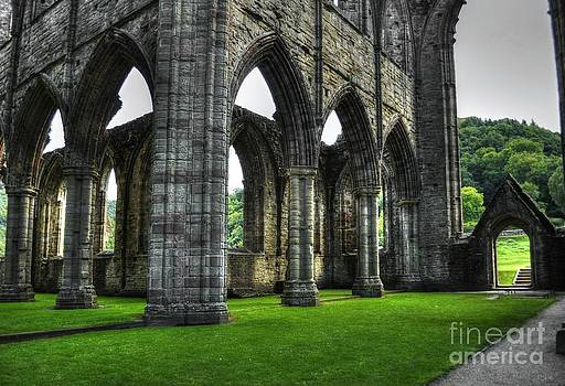 The Hallowed Cloisters of Tintern by Skye Ryan-Evans
