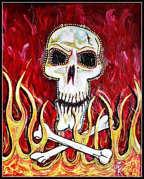The Happy Skull by Kip Krause