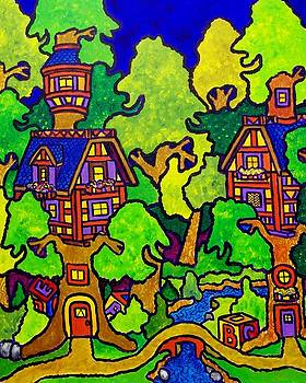 The Happy Treehouse by Nick Piliero