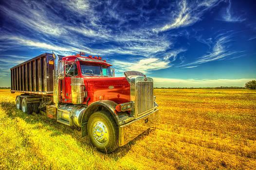 The Harvest Truck by  Caleb McGinn