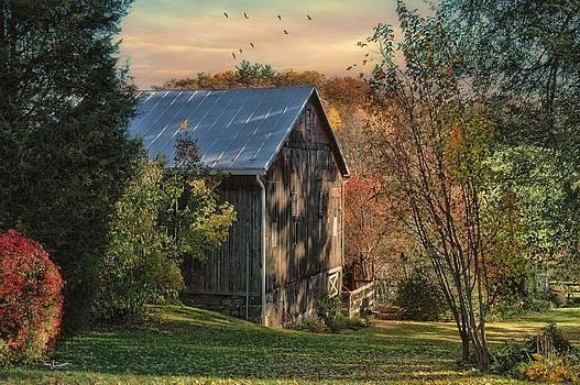 The Hay Barn by Fran J Scott