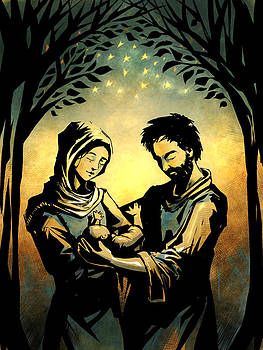 The Holy Family by David Leiberg