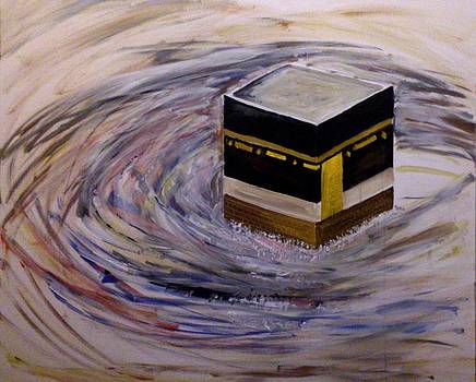 The Holy Kaaba by Asm Ambia Biplob