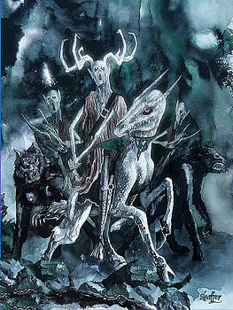 The Horned King by Curtiss Shaffer