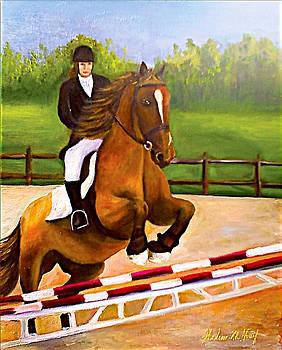 The Horse Rider by Helene Khoury Nassif