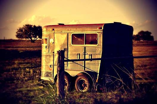 The Horse Trailer by Cherie Haines