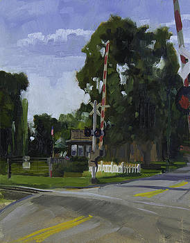 The House Over The Tracks by Anthony Sell