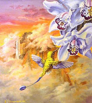 The Hummingbird's Flight Near The Angel Fall... by Irina Sumanenkova