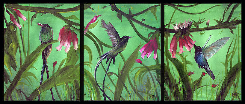 The Hummingbirds by James Kruse