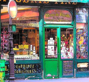 Jan Matson - The Ice Cream shop in Paris