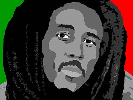 The Iconic Bob Marley by Paul Dunkel