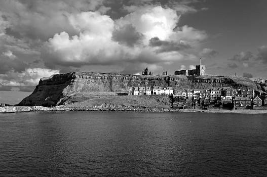 The Imposing East Cliff  - Whitby by Rod Johnson