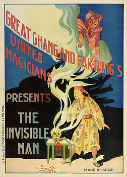 The Invisible Man by Vintage Images
