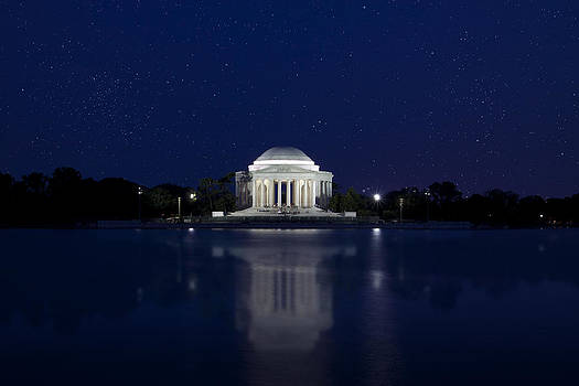 Regina  Williams  - The Jefferson Memorial