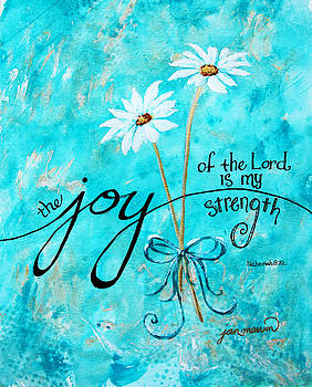 The Joy of the Lord by Jan Marvin by Jan Marvin