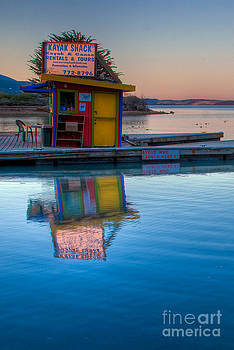 The Kayak Shack Morro Bay by Terry Garvin
