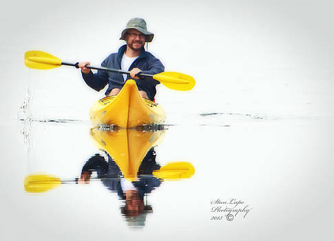 The Kayaker by Stanley Lupo