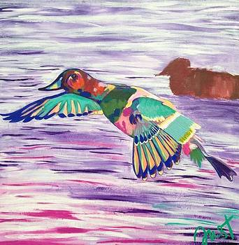 The King Canvasback by Janice Westfall
