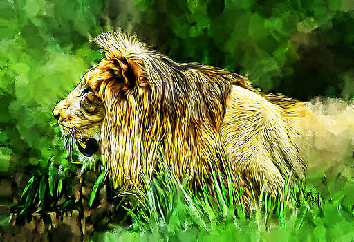 The King Lion by Brandon Batie