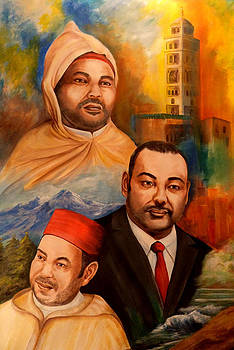 The King of Morocco by Patricia Rachidi