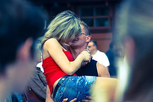 The kiss I miss by Arylana Art