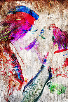 The Kiss by Kim M Smith