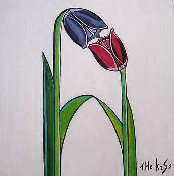 The Kiss by Sandra Marie Adams