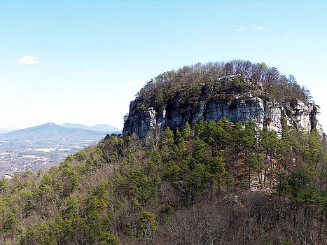 The Knob at Pilot Mountain by Jessica  st Lewis