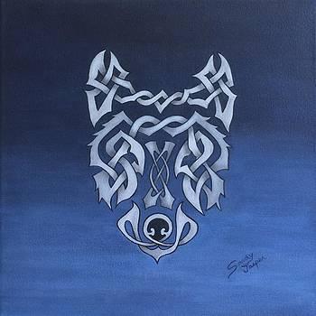 The Knotty Wolf by Sandy Jasper