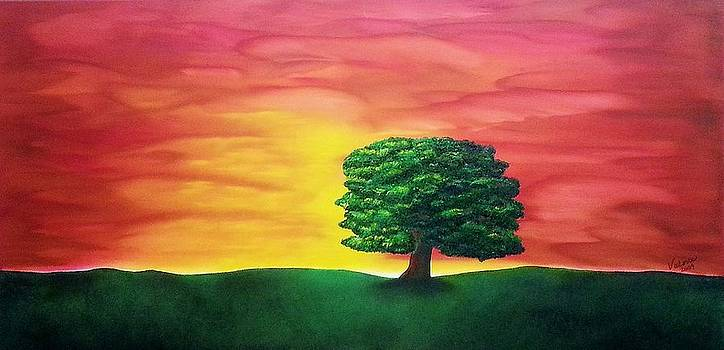The knowing tree by Valorie Cross