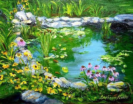 The Koi Pond by Barbara Pirkle