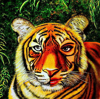The Lady and the Tiger by Premkumar C N