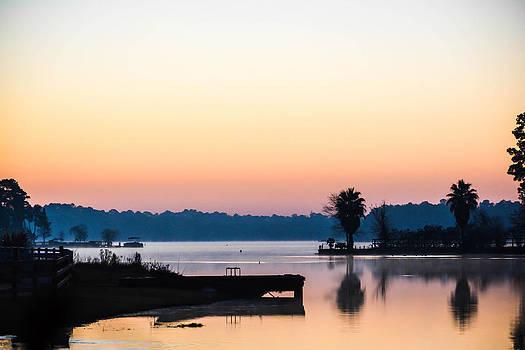 The Lake Before Sunrise by Shey Stitt
