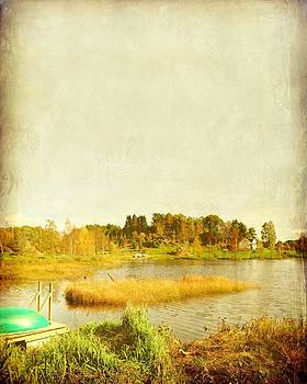 The Lake in Autumn by Sonya Kanelstrand