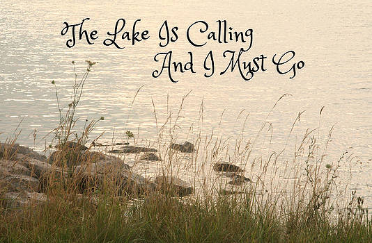 The Lake Is Calling by Heather Allen