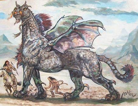 The Land Dragon by Sheila Tibbs
