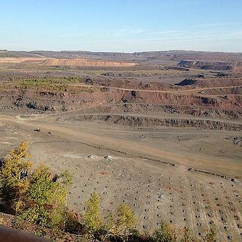 The Largest Open Iron  Ore Pit In The by Nadine Rippelmeyer