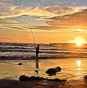 The last cast of the day by Blair Stuart
