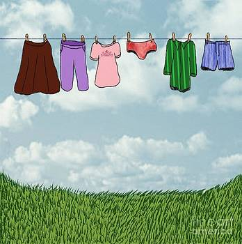 The Laundry by Evelyn O Simon