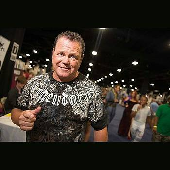 The Legendary Jerry Lawler At Boston by Derek Kouyoumjian