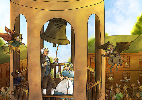 The Liberty Bell by Reynold Jay